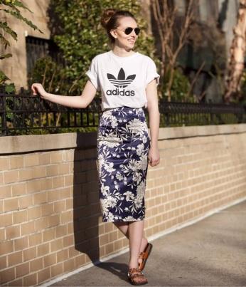 Resultado de imagem para adidas t shirt style