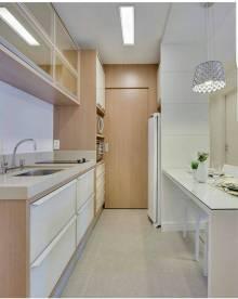 Resultado de imagem para móveis planejados cozinha corredor
