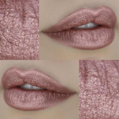 Resultado de imagem para batom ouro rosa bruna tavares