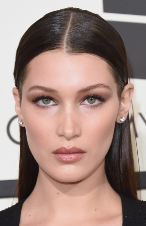 LOS ANGELES, CA - FEBRUARY 15: Model Bella Hadid attends The 58th GRAMMY Awards at Staples Center on February 15, 2016 in Los Angeles, California. (Photo by Jason Merritt/Getty Images for NARAS)